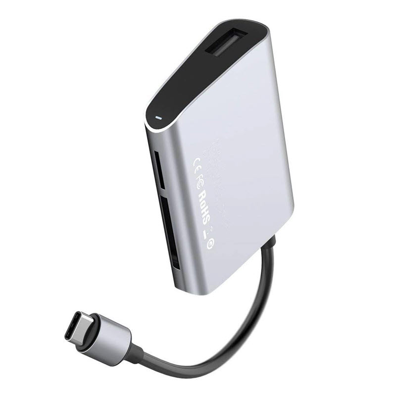 Baseus Sd Tf Card Usb 2 0 Hub Adapter (2)