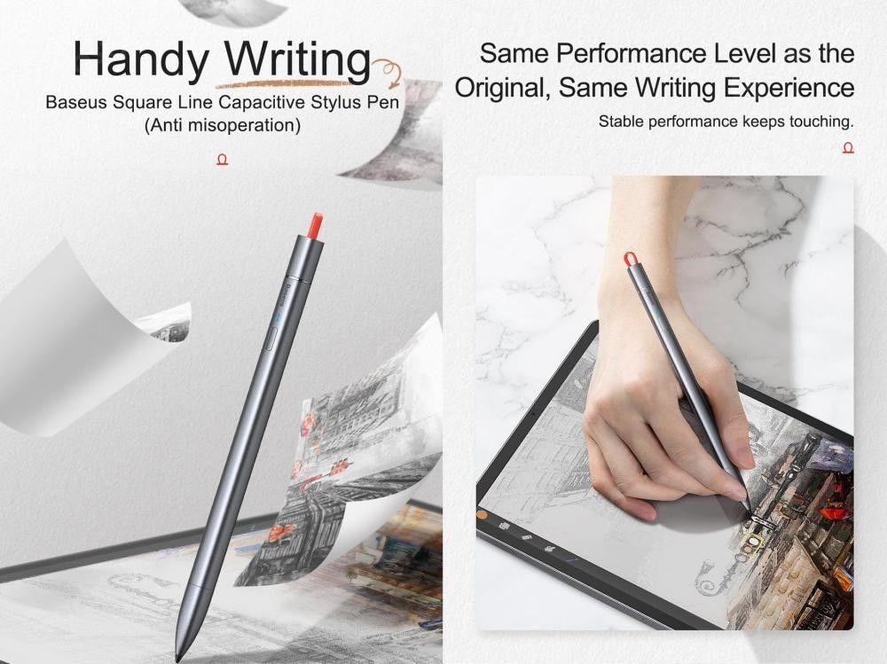 Baseus Square Line Capacitive Stylus Pen (1)