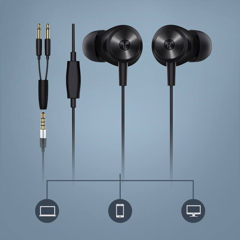 Bluedio Li Local Snake Y Shaped Wired Earphones (2)
