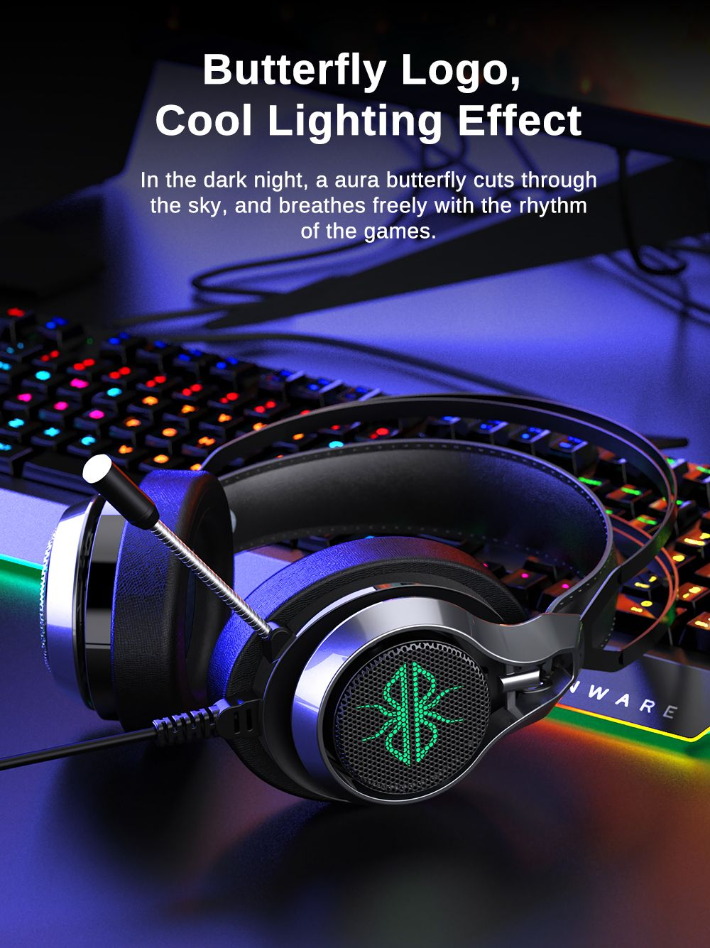 Dacom Gh05 Wired Over Ear Gaming Headphone (2)