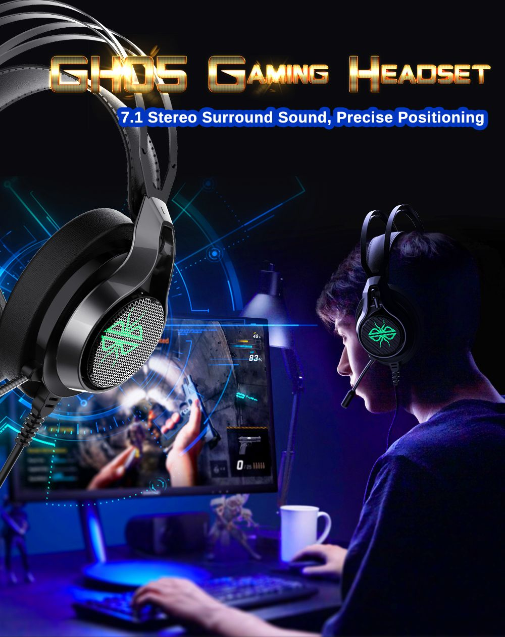 Dacom Gh05 Wired Over Ear Gaming Headphone (5)