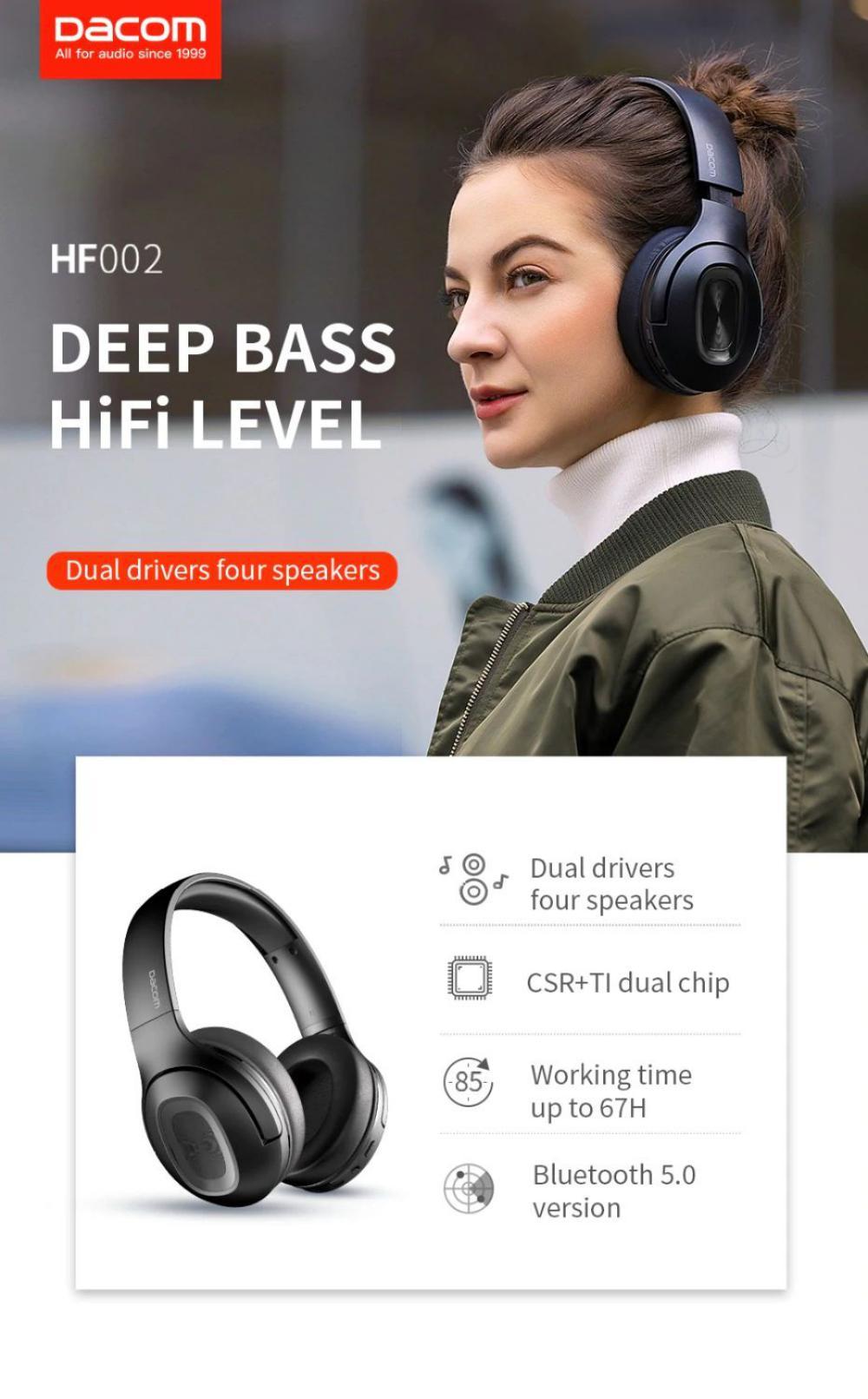 Dacom Hf002 Bluetooth Wireless Headphones (1)