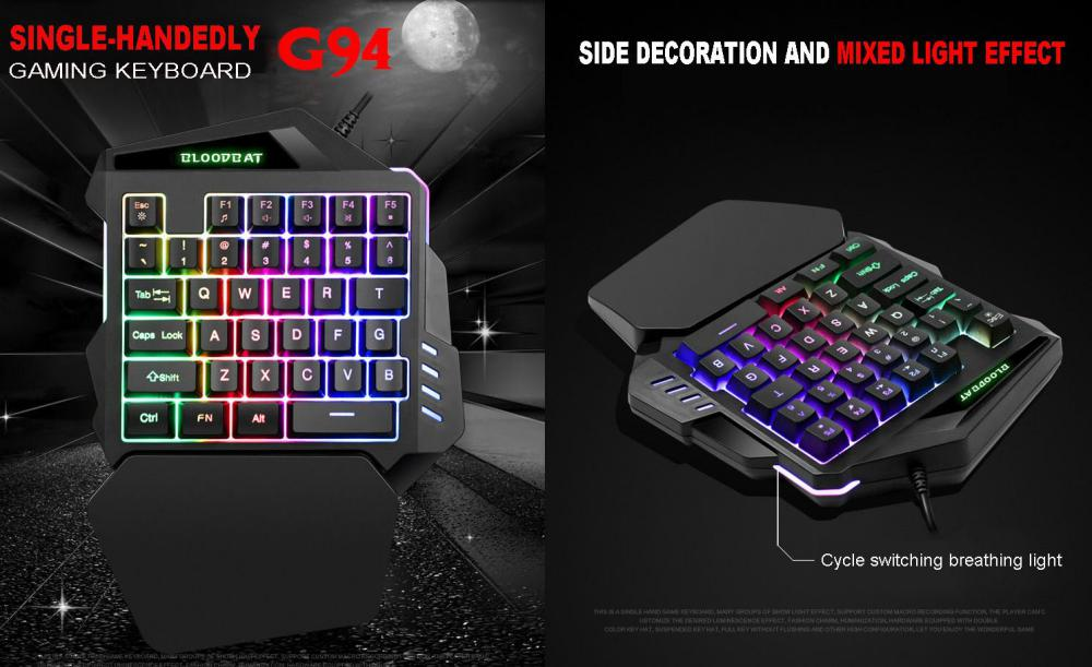 G92 Wired Gaming Keypad With Rgb Backlight (1)