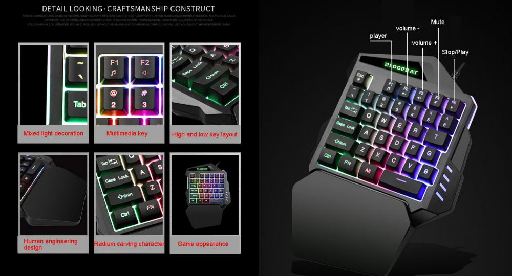 G92 Wired Gaming Keypad With Rgb Backlight (3)
