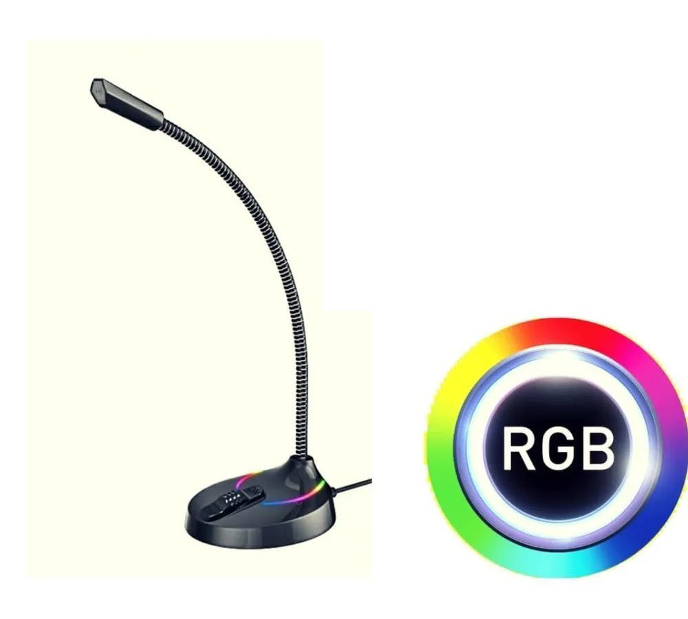 Havit Hv Gk55 Microphone For Pc Rgb With Usb And 7 Colors