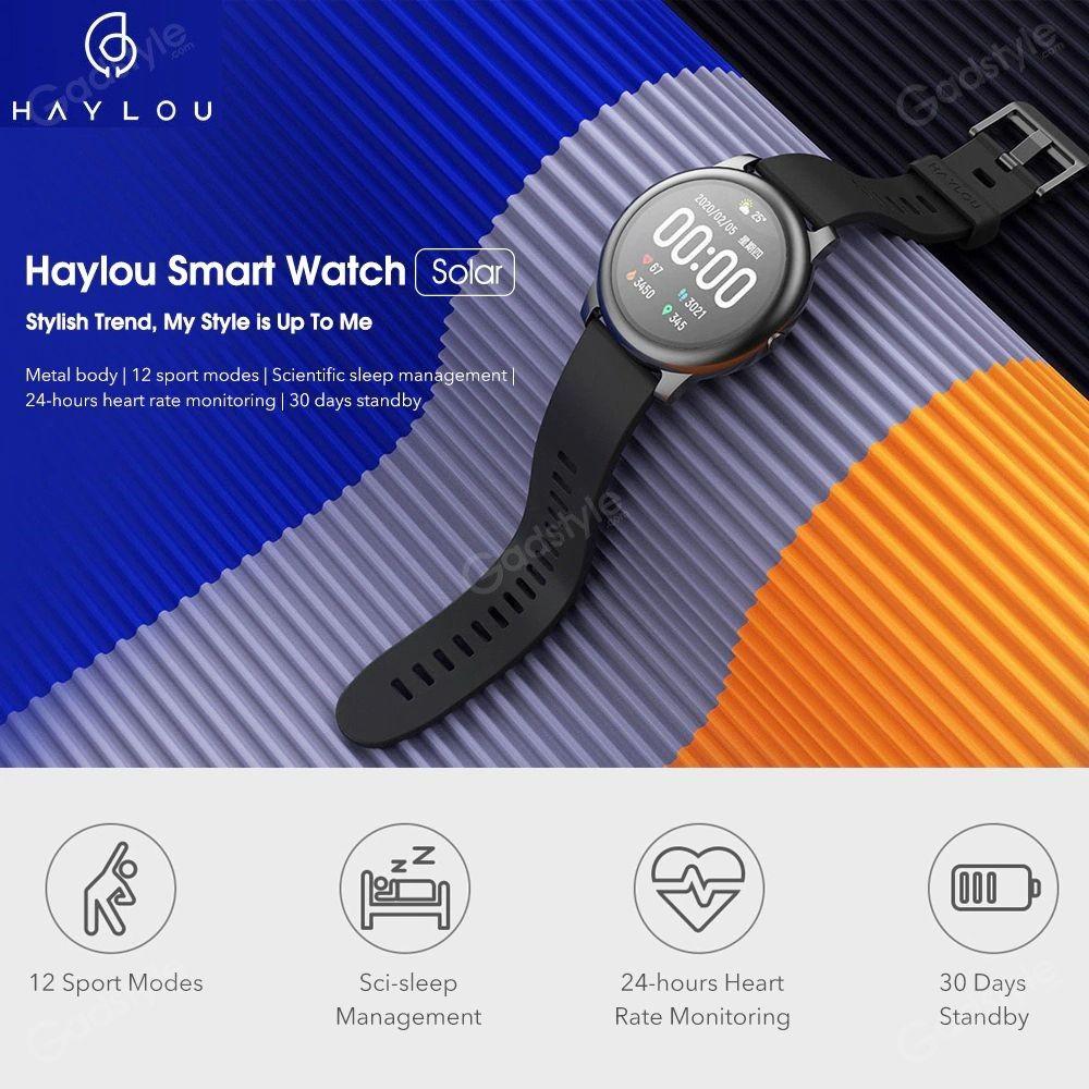 Haylou Ls05 Solar Smart Watch (2)