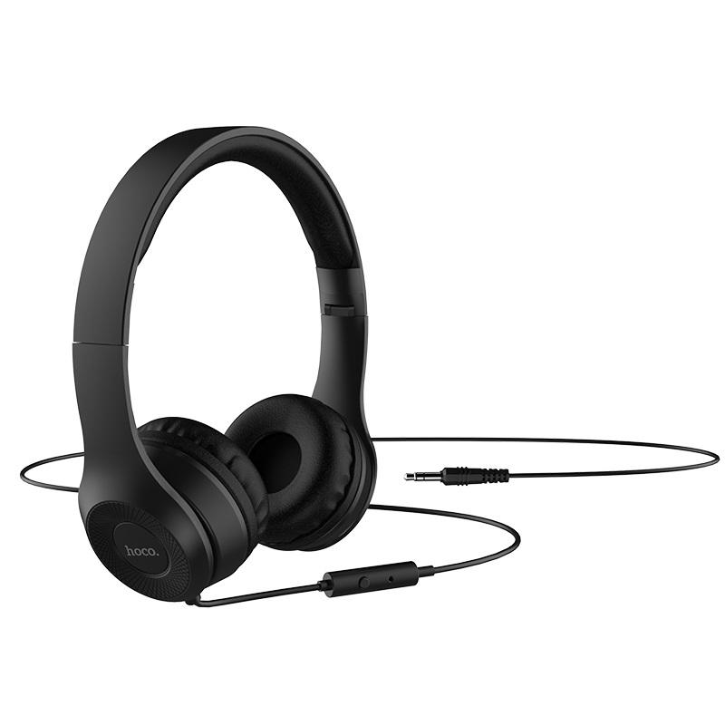Hoco W21 Wired Foldable Headphones (1)