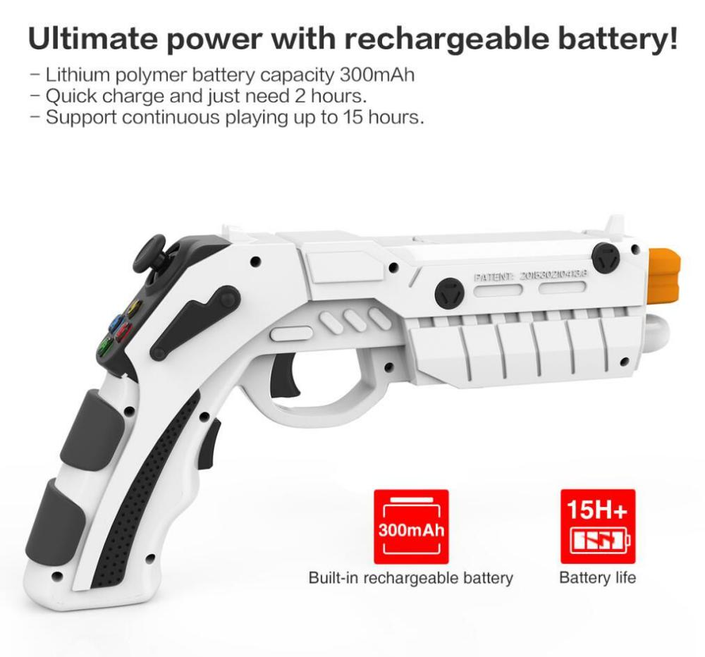 Ipega 9082 Ar Vibration Joystick Game Gun (2)