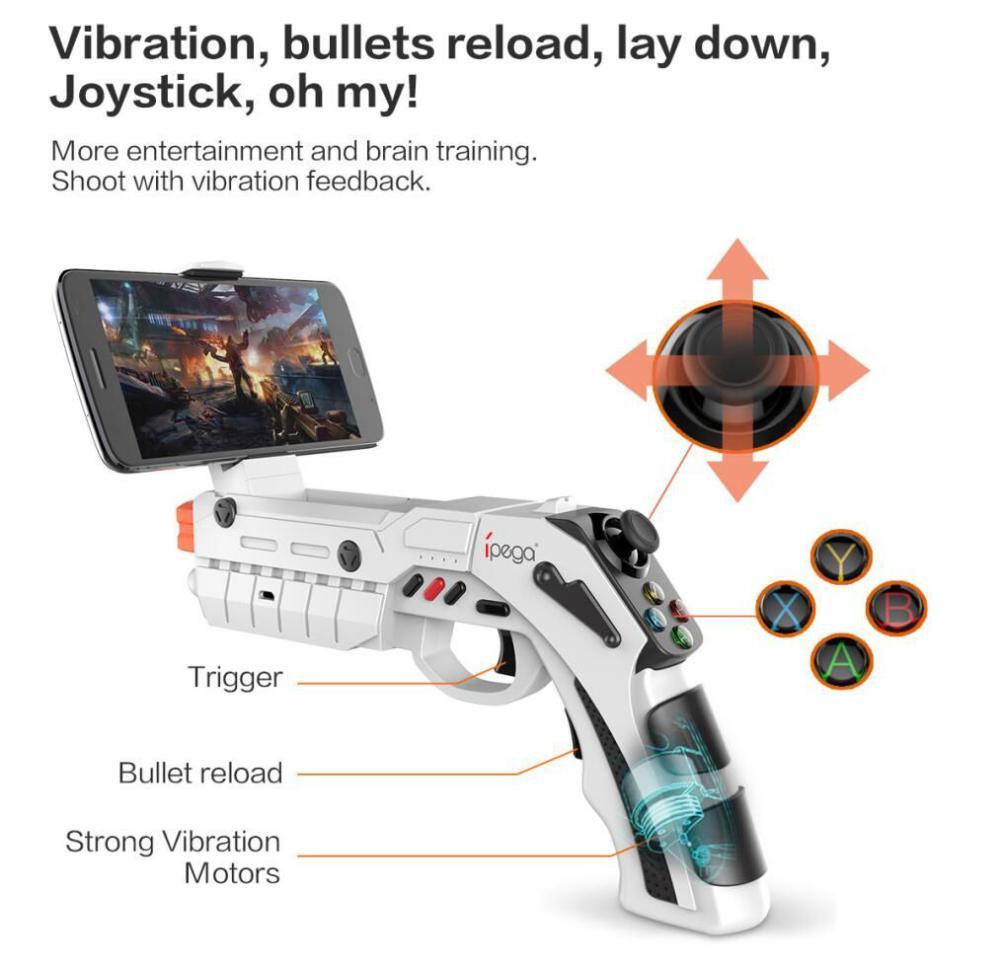 Ipega 9082 Ar Vibration Joystick Game Gun (3)