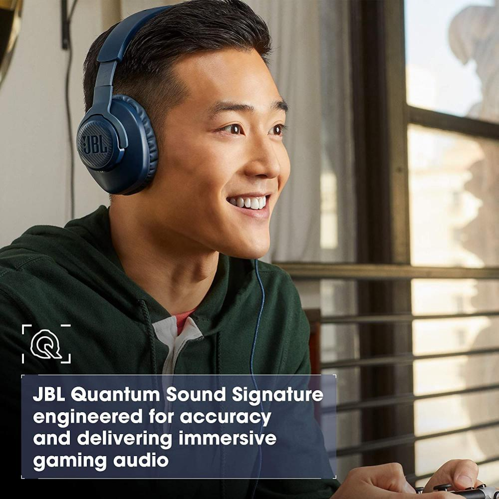 Jbl Quantum 100 Wired Over Ear Gaming Headset With Detachable Mic (5)