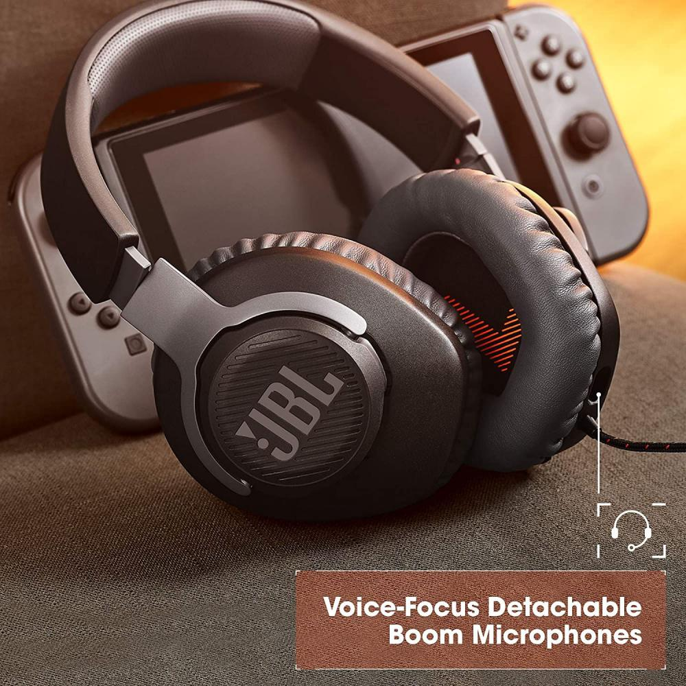 Jbl Quantum 100 Wired Over Ear Gaming Headset With Detachable Mic (6)