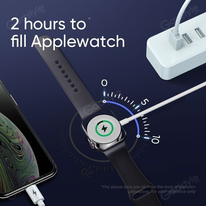 Joyroom 2 In 1 Wireless Charger For Apple Iwatch And Iphone (5)