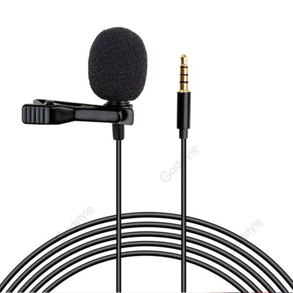 Lavalier Clip Lapel Microphone 35mm Jack