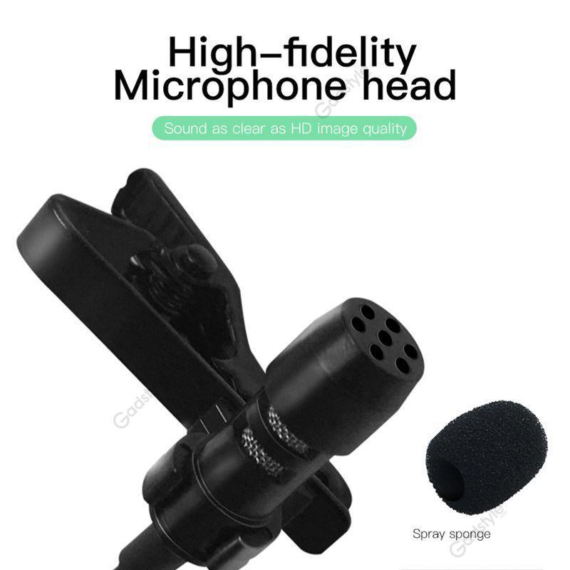 Lavalier Clip Lapel Microphone (6)
