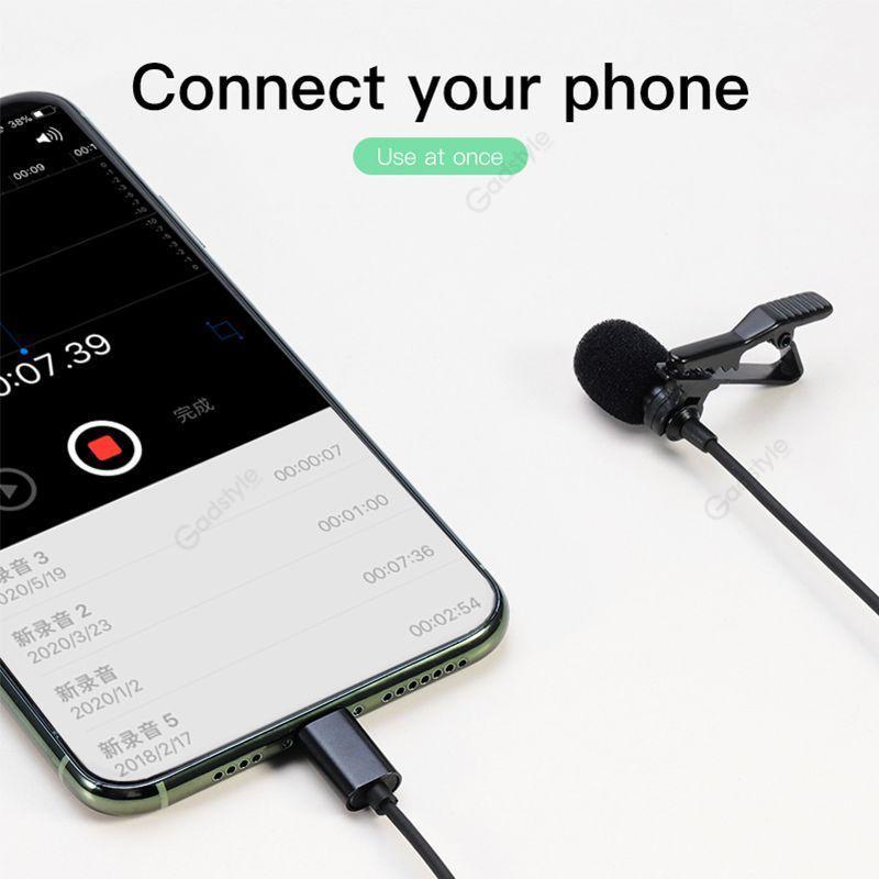 Lavalier Clip Lapel Microphone (7)