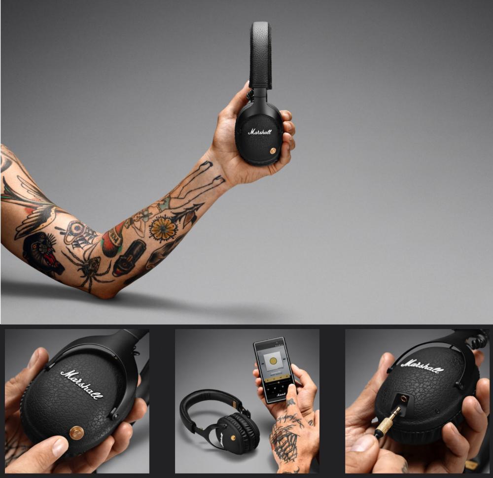 Marshall Monitor Bluetooth Aptx Headphones (2)