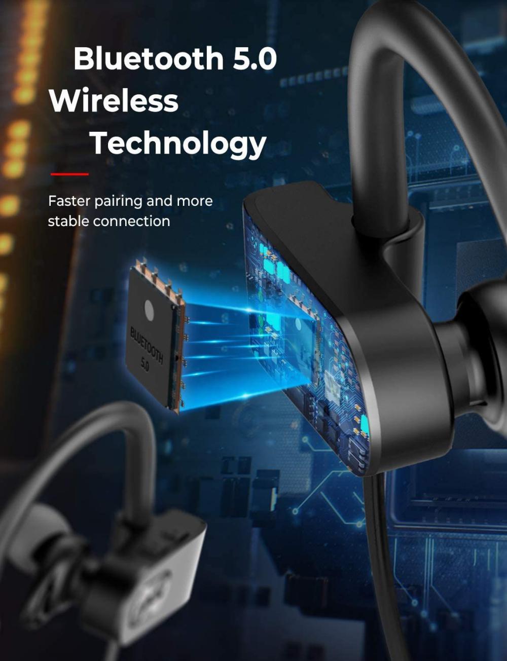 Mpow Flame 2 Waterproof Bluetooth Earphones (4)