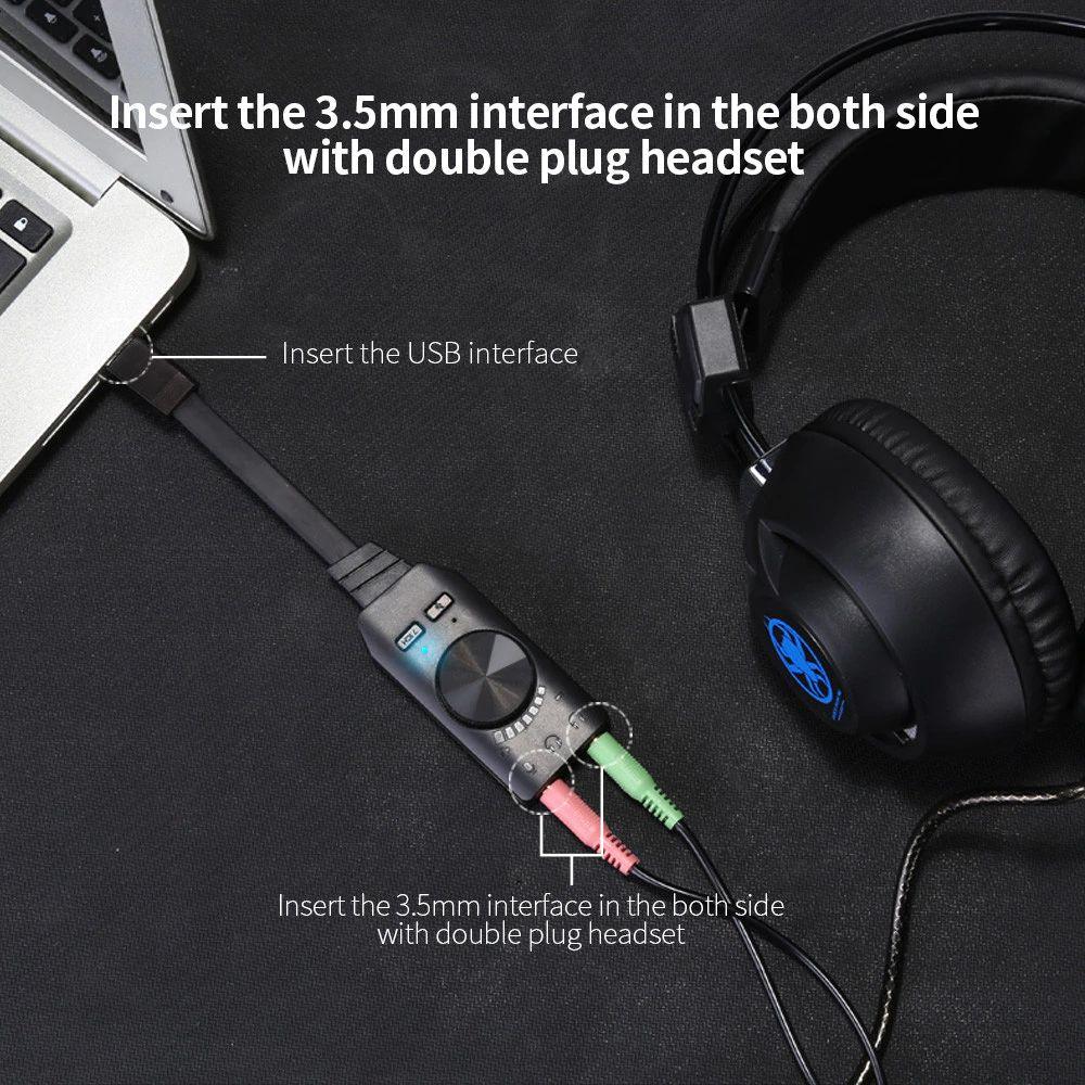 Plextone Gs3 Earphone Adapter Virtual 7 1 Channel Usb Sound Card (1)