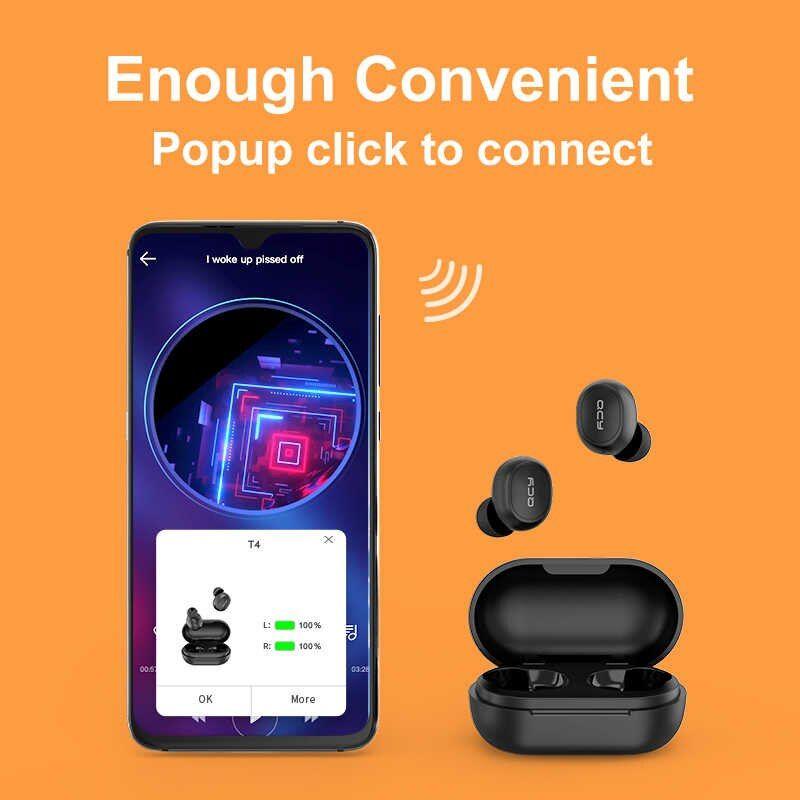 Qcy T4 Bluetooth 5 0 Tws Earphones (2)