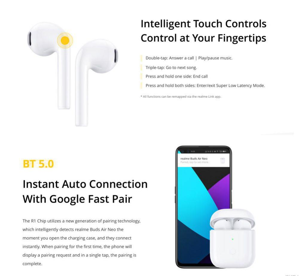 Realme Buds Air Neo Tws Earbuds (4)
