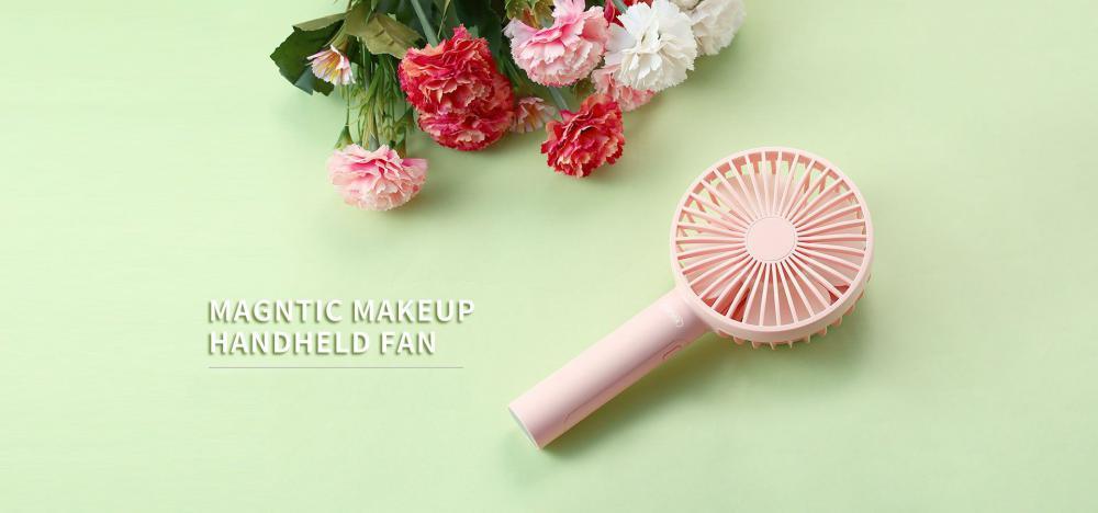Remax Makeup Handheld Fan With Mirror (4)