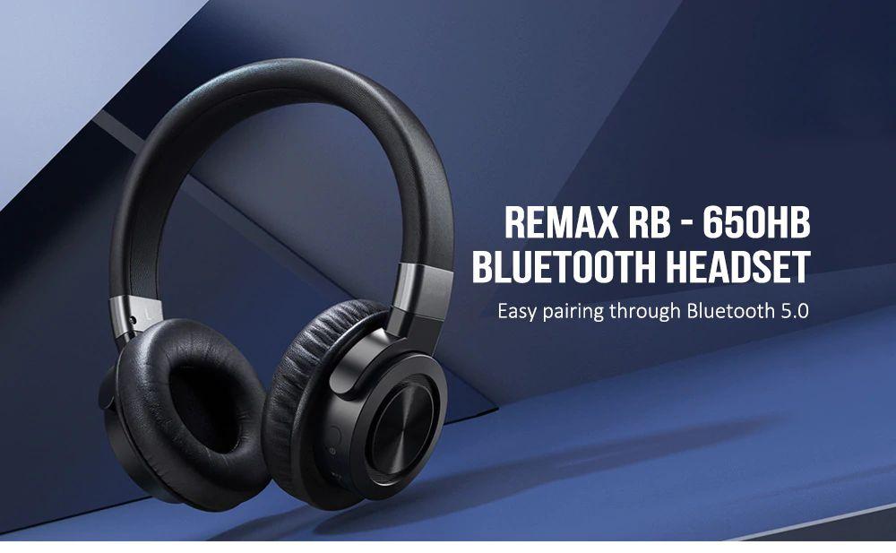Remax Rb 650hb Bluetooth 5 0 360 Surround Sound Headphone (3)