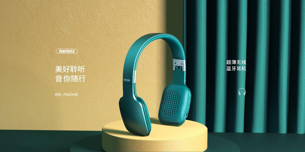 Remax Rb 700hb Hifi Wireless Bluetooth Headphones (2)