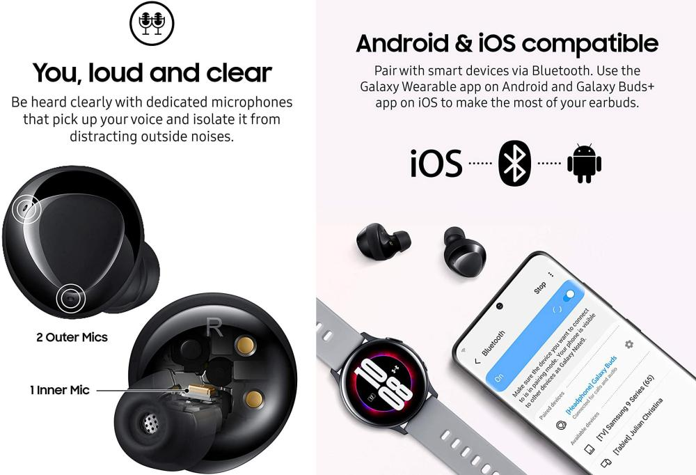 Samsung Galaxy Buds Plus True Wireless Earbuds (5)