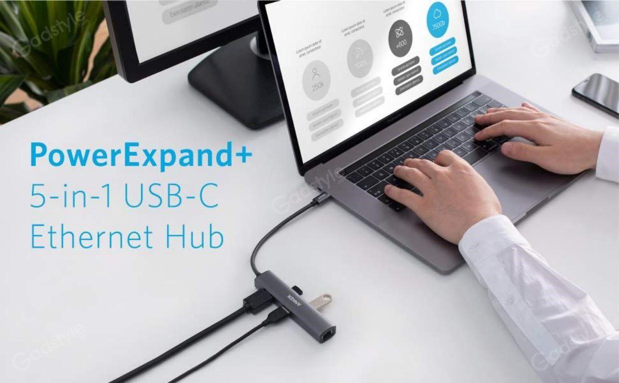 Anker Powerexpand 5 In 1 Usb C Ethernet Hub (2)