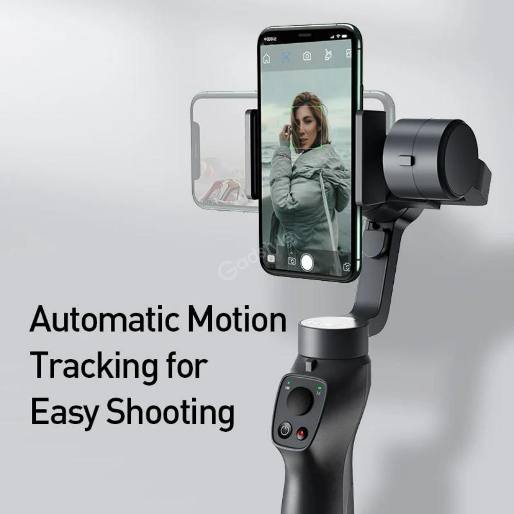 Baseus 3 Axis Handheld Gimbal Stabilizer For Mobile Action Camera (3)