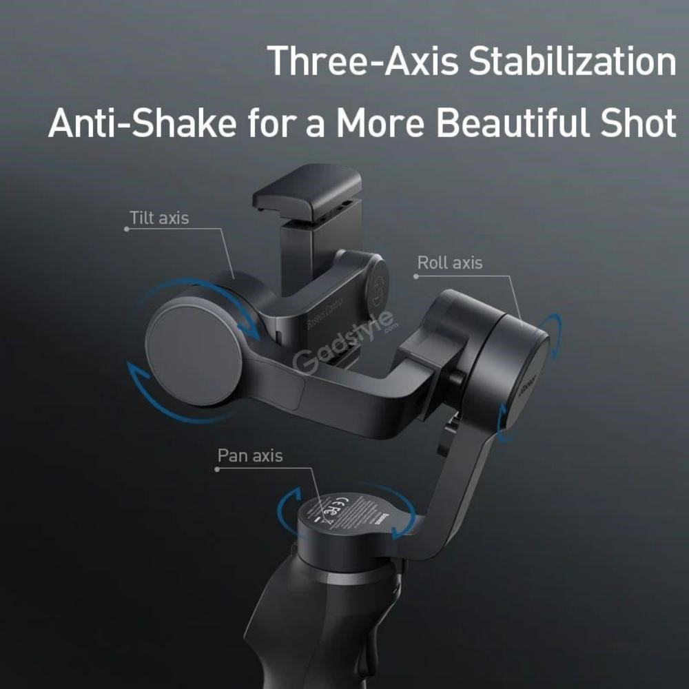 Baseus 3 Axis Handheld Gimbal Stabilizer For Mobile Action Camera (5)