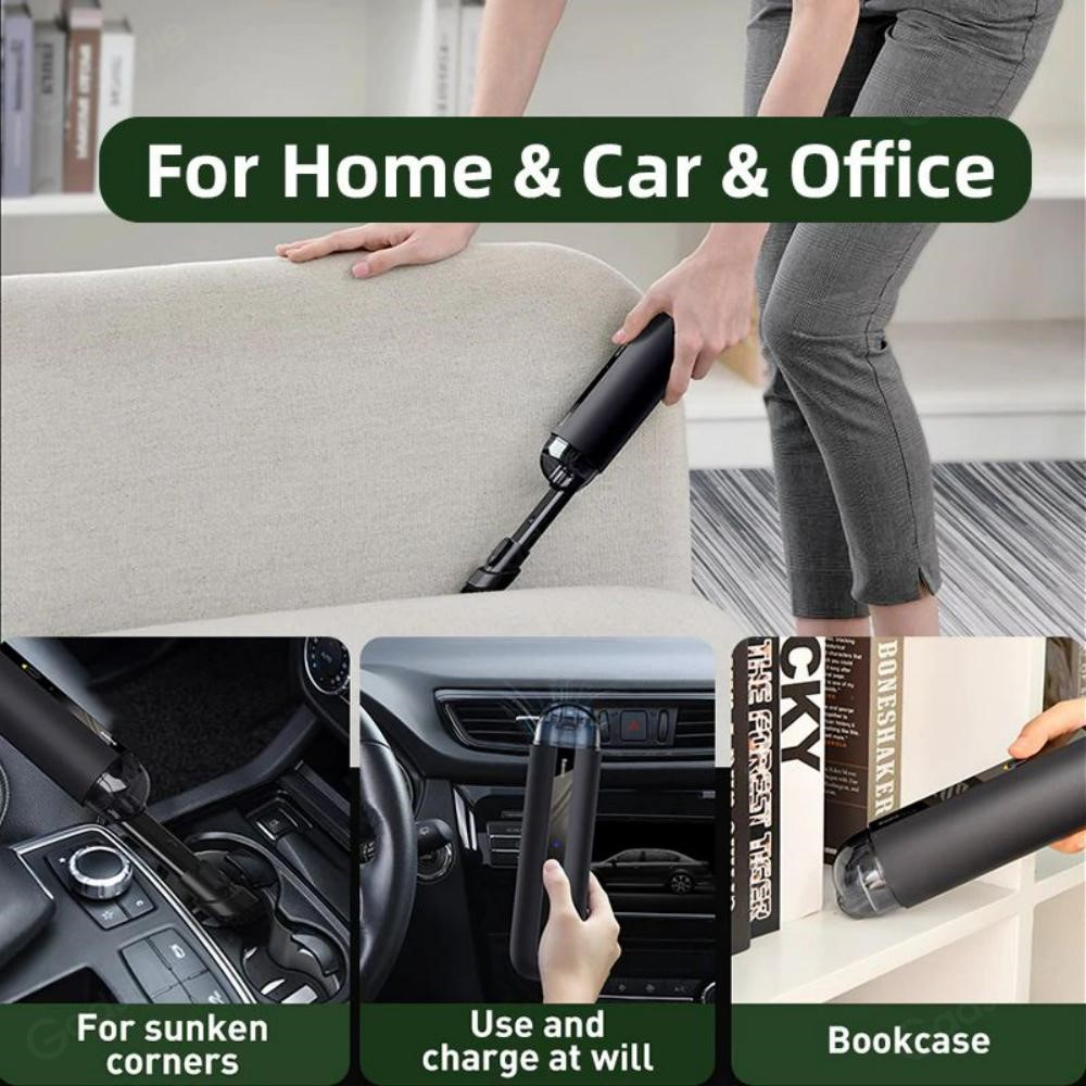 Baseus A2 Car Vacuum Cleaner 5000pa Powerful Suction For Home Car And Office (2)
