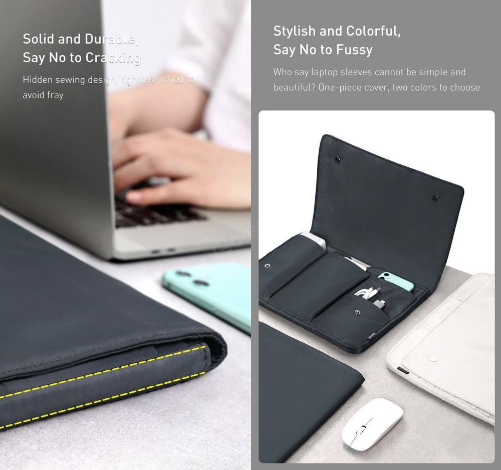 Baseus Basics Series Laptop Sleeve For Notebook Compurter (3)