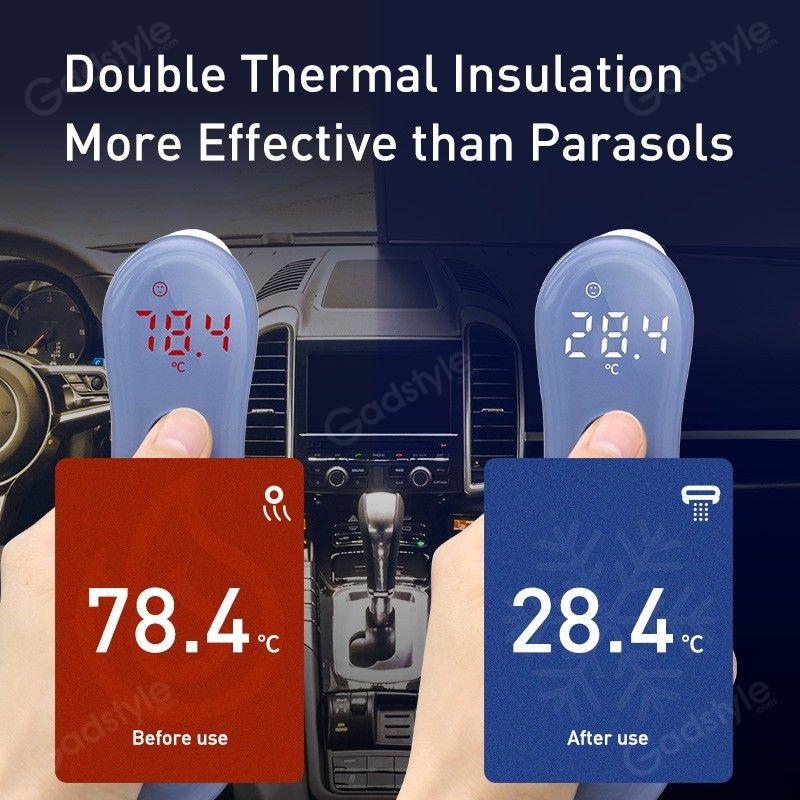 Baseus Car Sunshade Retractable Foldable Front Window Windshield (2)