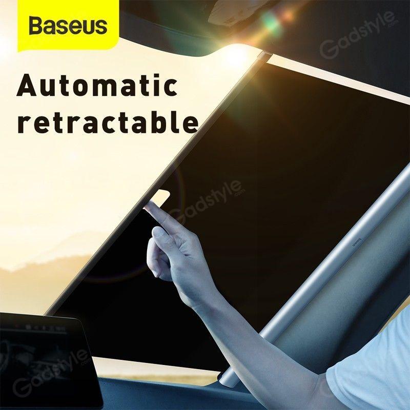 Baseus Car Sunshade Retractable Foldable Front Window Windshield (5)