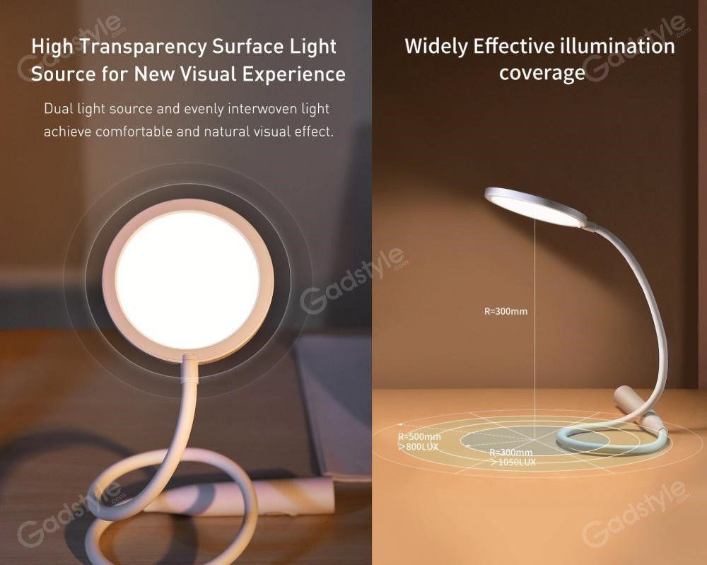 Baseus Comfort Reading Charging Uniform Light Hose Desk Lamp (1)
