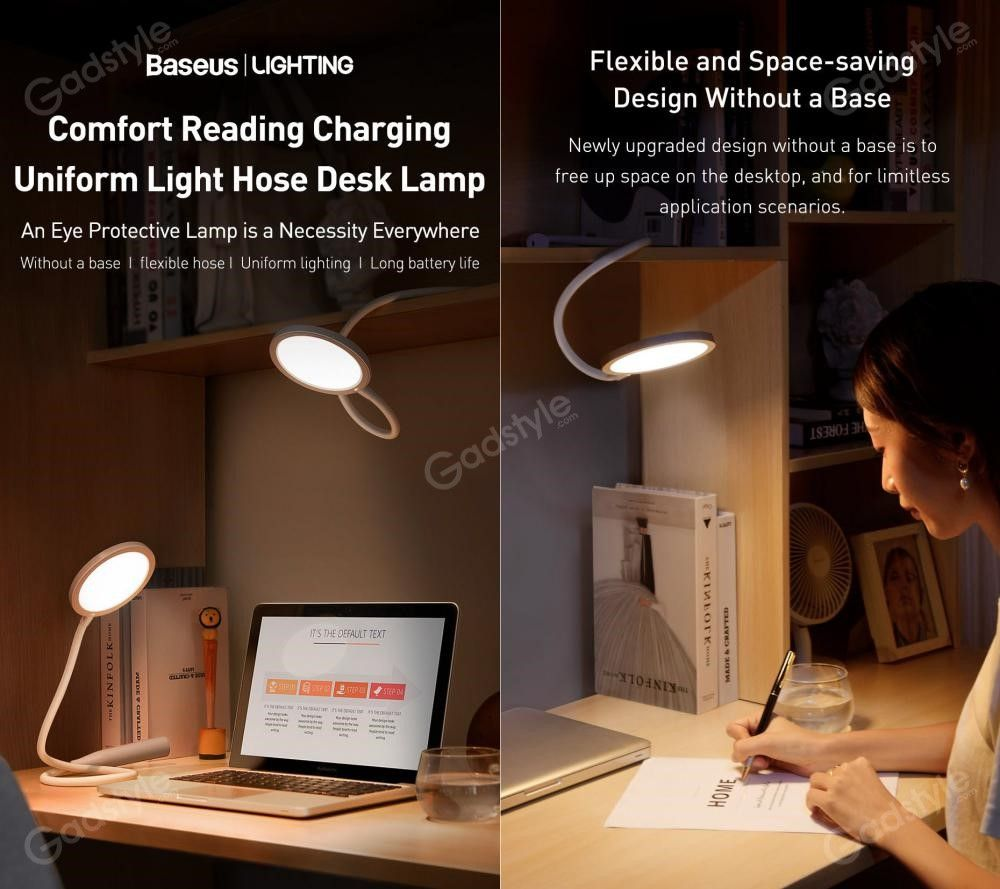 Baseus Comfort Reading Charging Uniform Light Hose Desk Lamp (4)