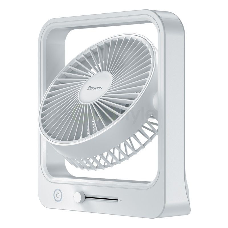 Baseus Cube Shaking Fan Desktop Desk Usb Fan (5)
