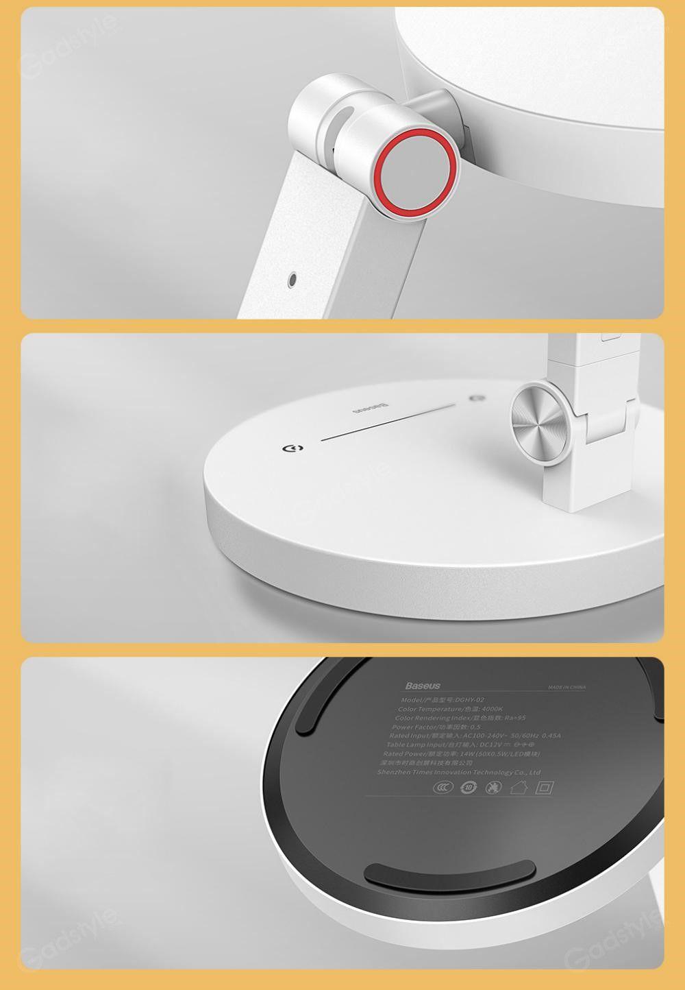Baseus Dghy 02 Smart Eye Series Full Spectrum Eye Protective Desk Lamp (6)