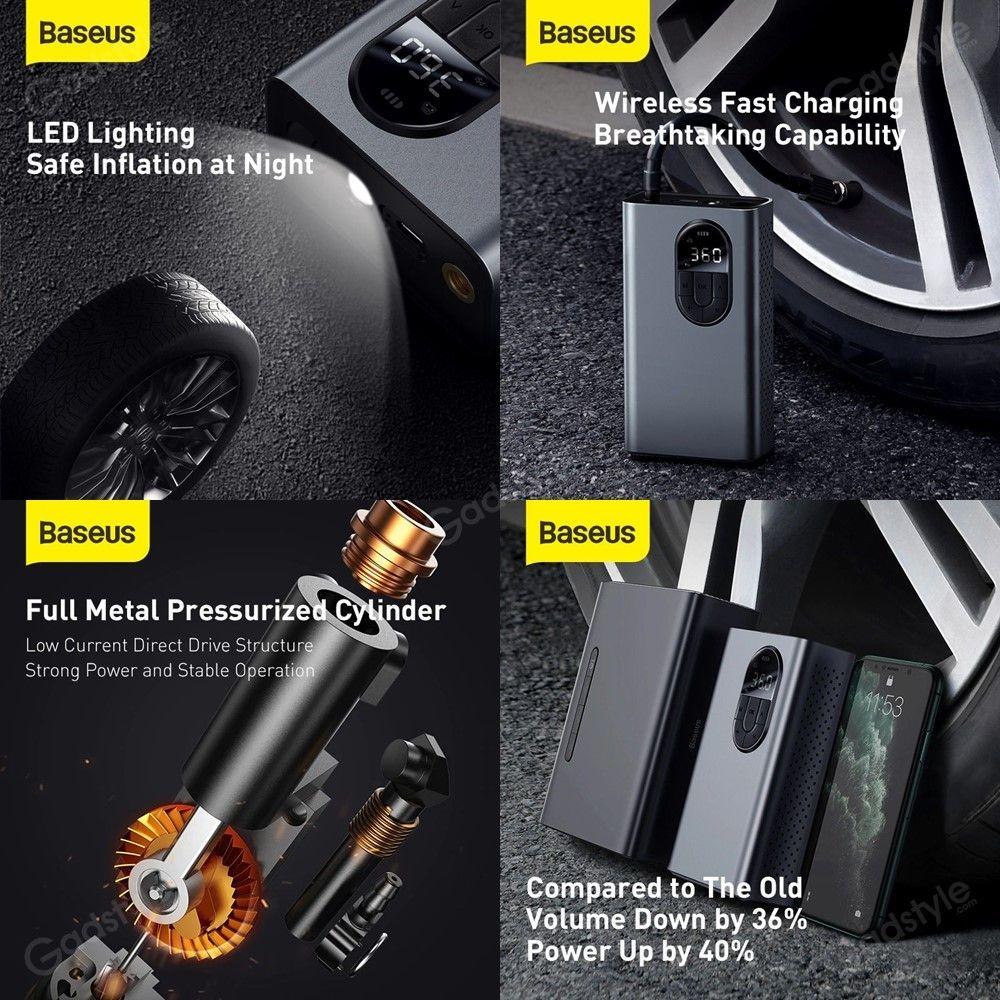 Baseus Energy Source Inflator Pump Wireless Intelligent Air Pump (8)