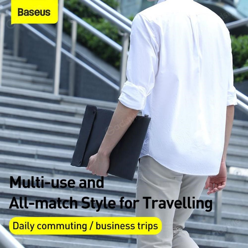 Baseus Folding Series Laptop Bag Laptop Macbook Notebook 13 16 Inch (2)