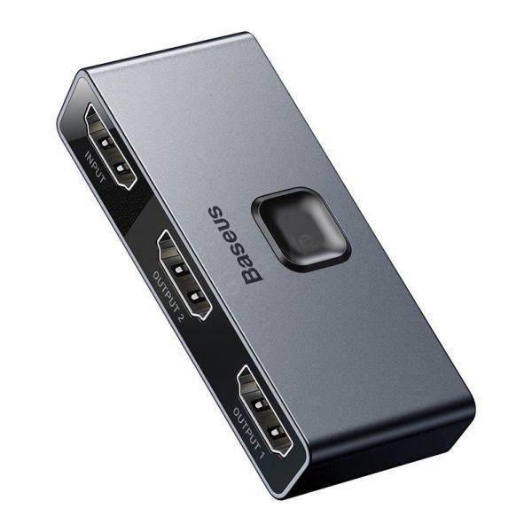 Baseus Hdmi Splitter 4k Hdmi Switch Adapter Hdmi Switcher (4)