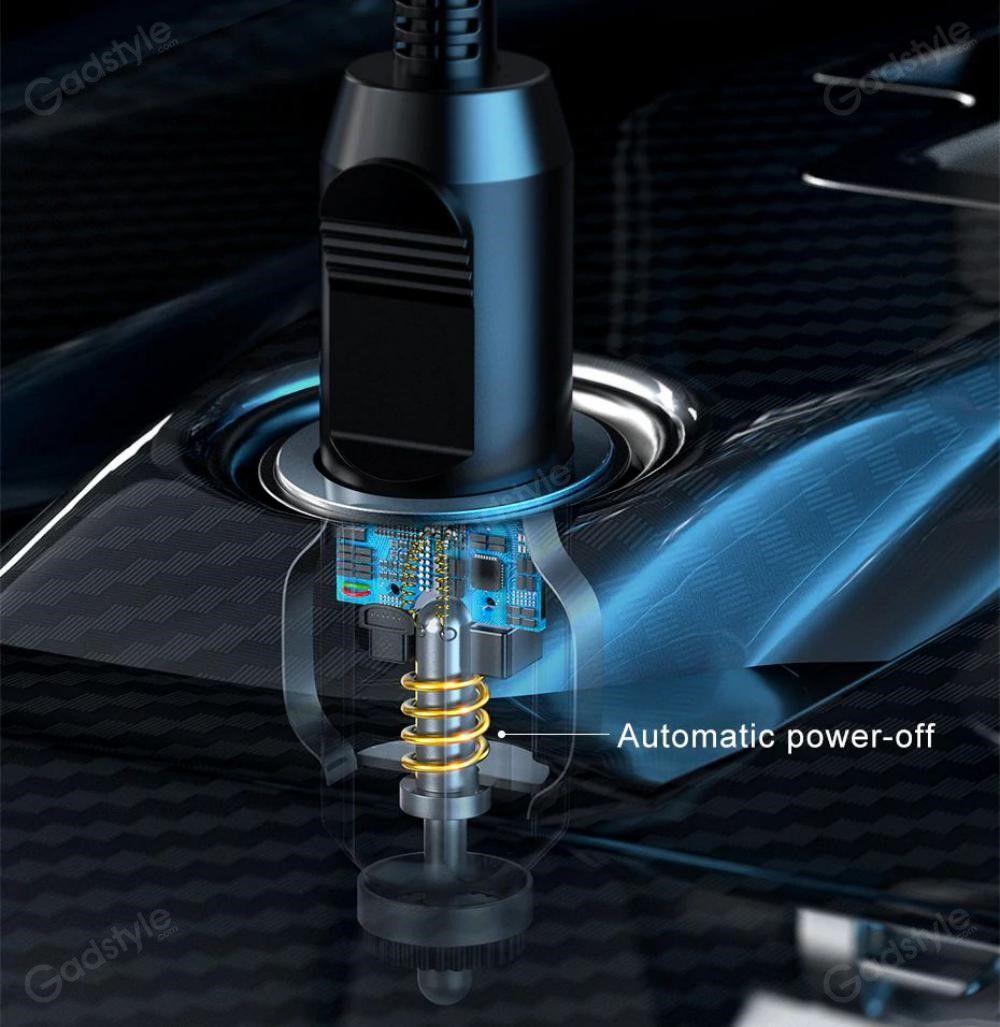 Baseus Intelligent Portable Car Air Compressor Tire Inflatable Pump (3)