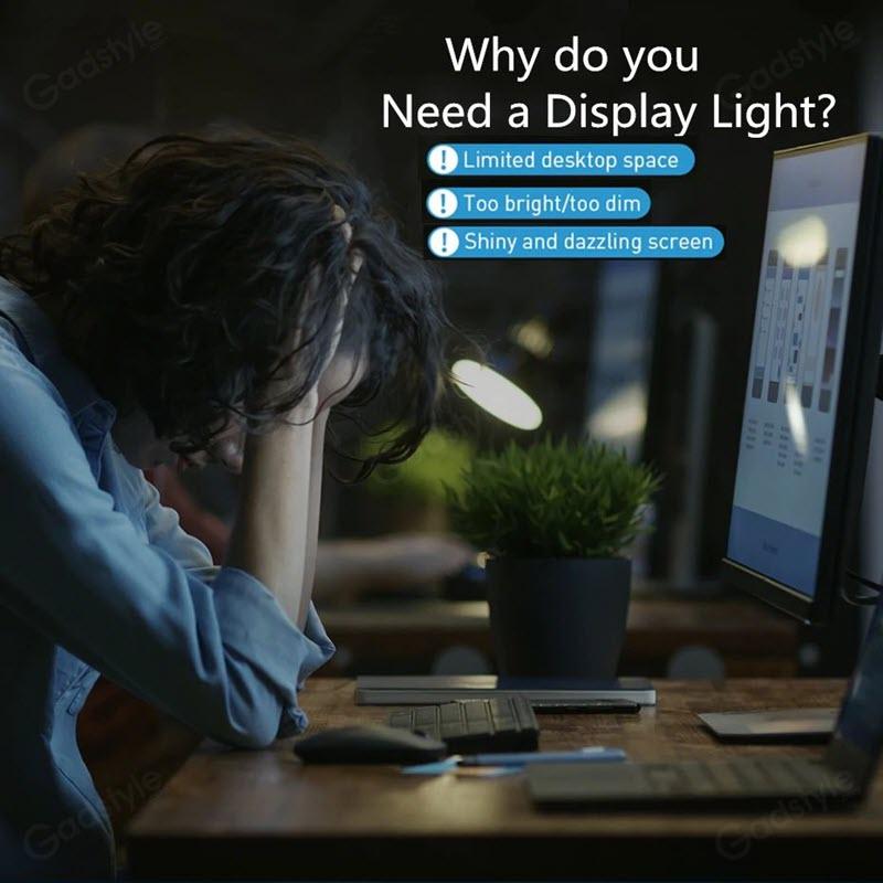 Baseus Led Table Lamp For Pc Laptop Screen Bar Pendant Light Desk Lamp (4)