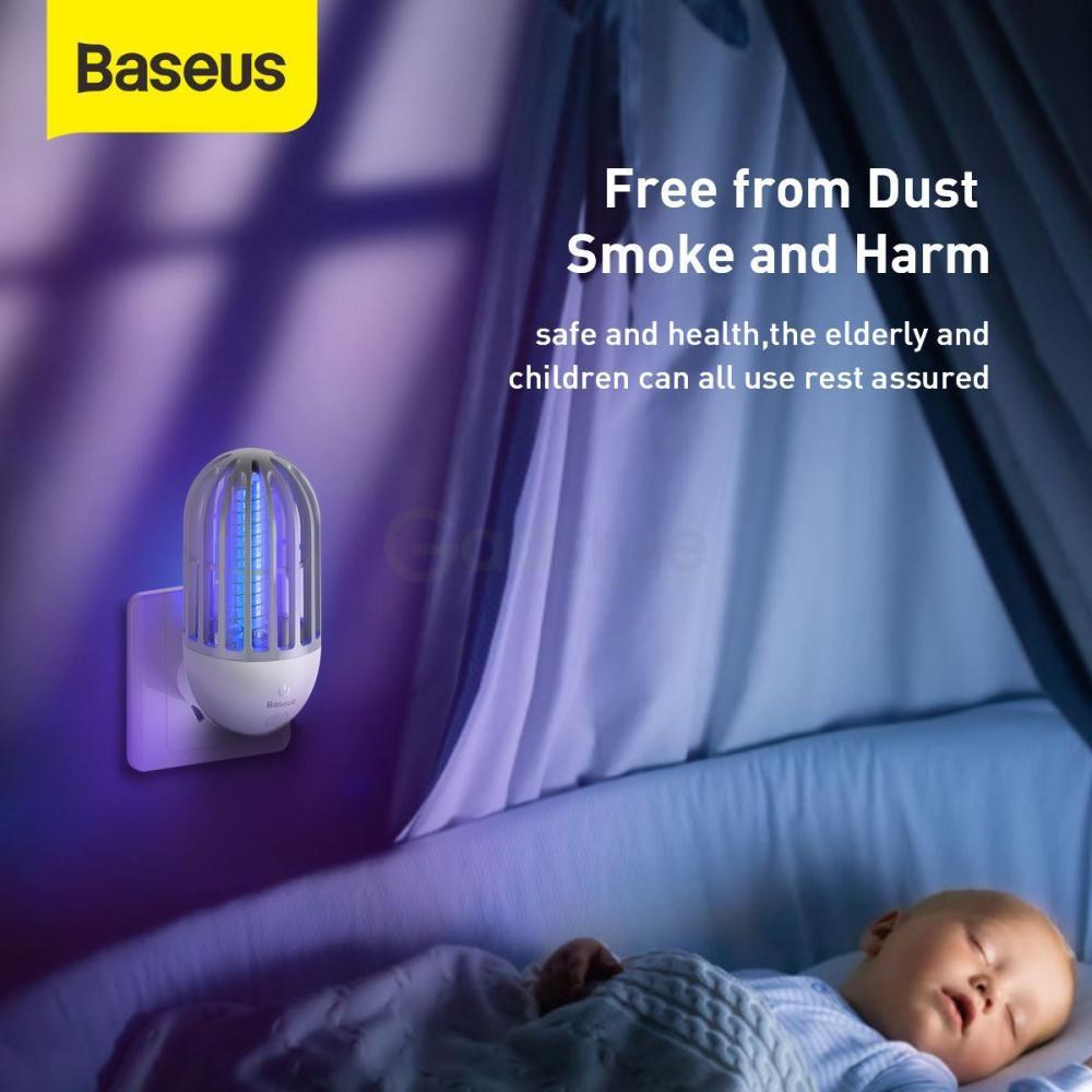 Baseus Linlon Outlet Mosquito Lamp Electric Zap (2)