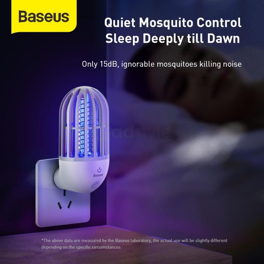 Baseus Linlon Outlet Mosquito Lamp Electric Zap (5)