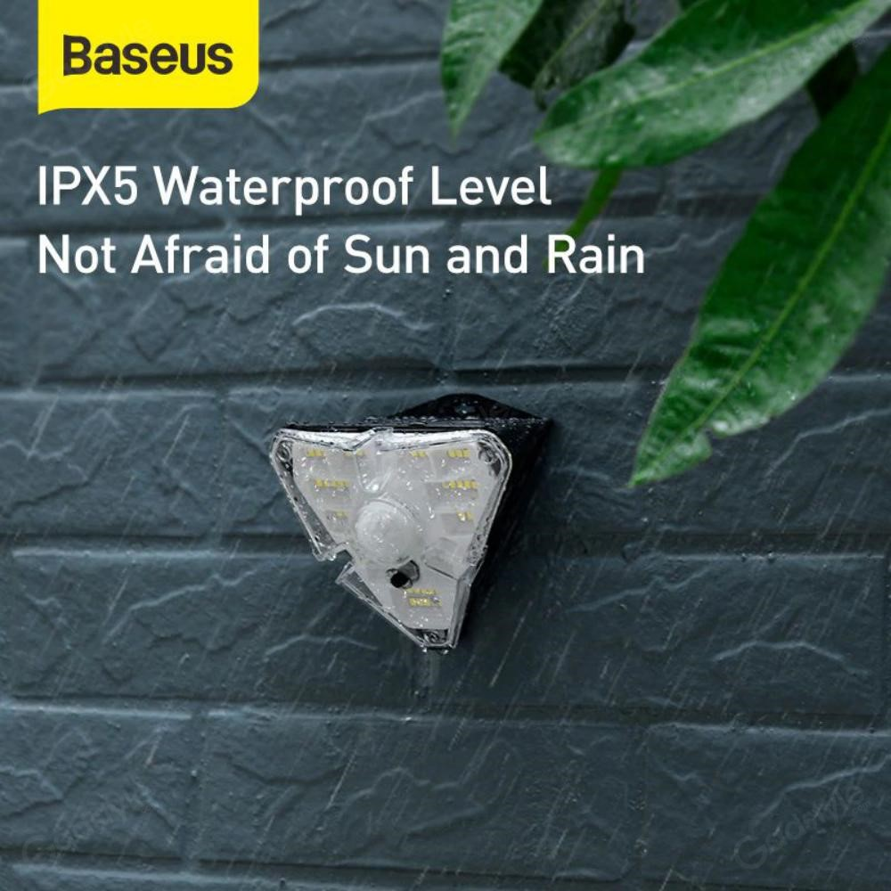 Baseus Solar Energy Human Body Induction Wall Lamp (3)