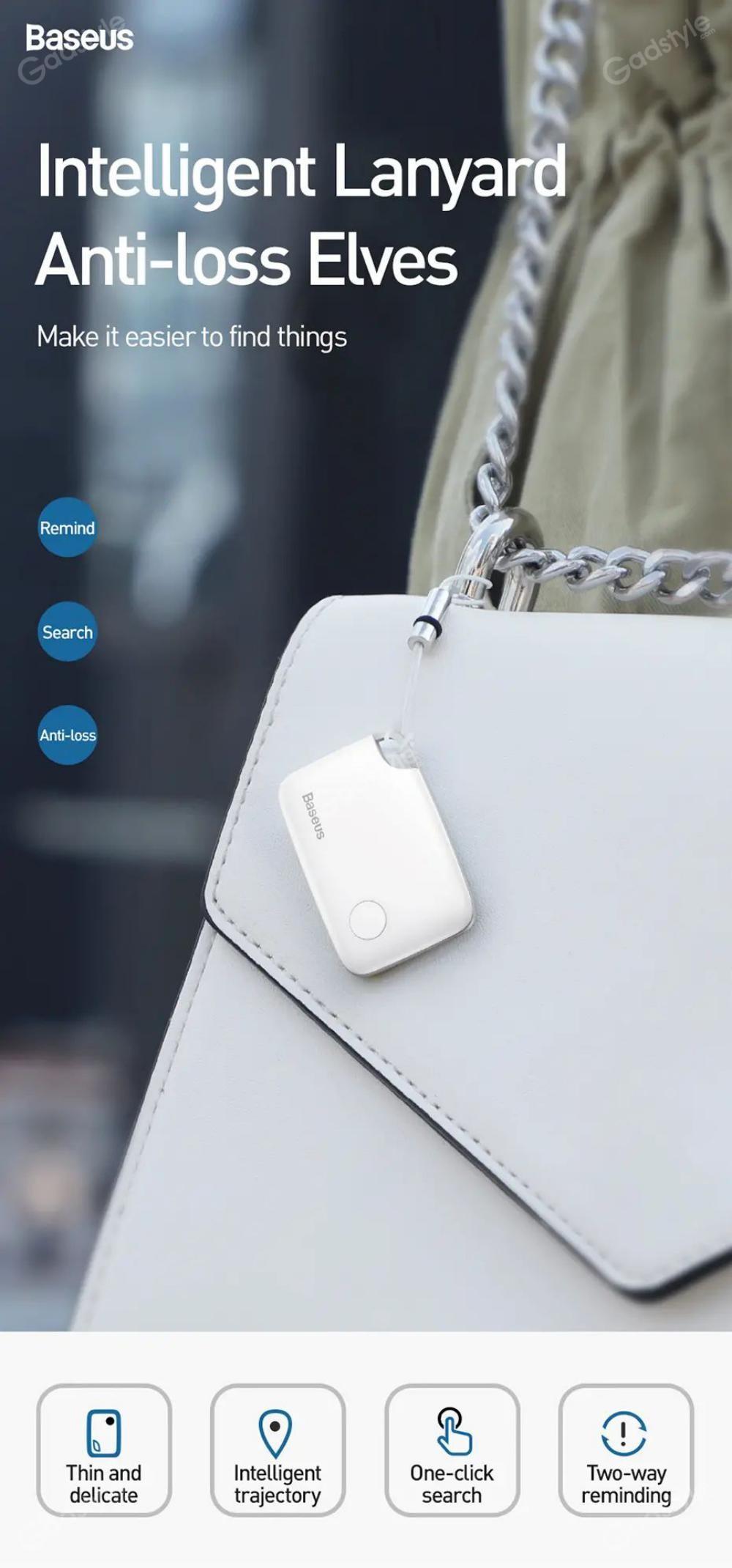 Baseus T2 Wireless Smart Tracker Anti Lost Alarm Tracker (4)