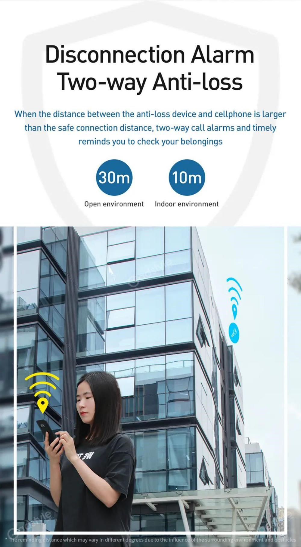 Baseus T2 Wireless Smart Tracker Anti Lost Alarm Tracker (5)