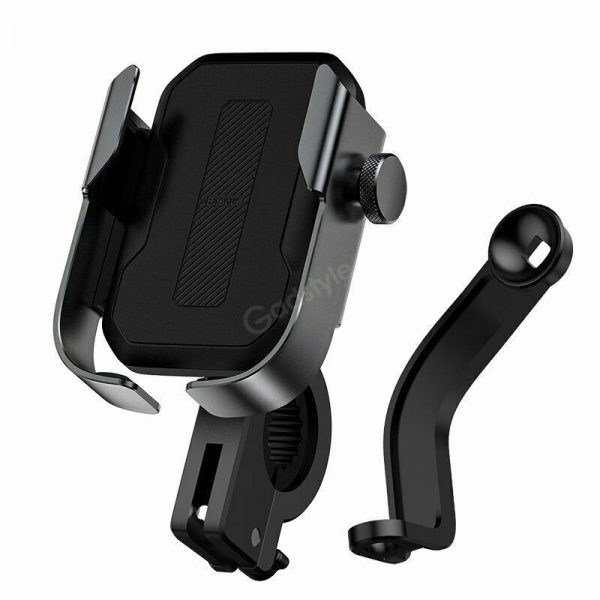 Baseus Universal Motorcycle Motorbike Scooter Bike Phone Holder Gps Stand Mount (4)